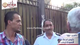 قمامة فى ساحة السيدة زينب.. وأسامة العبد لرئيس الحى: ده منظر ده؟! (فيديو)