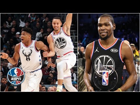 Kevin Durant named MVP as Team LeBron beats Team Giannis in All-Star Game | NBA All-Star 2019 thumbnail