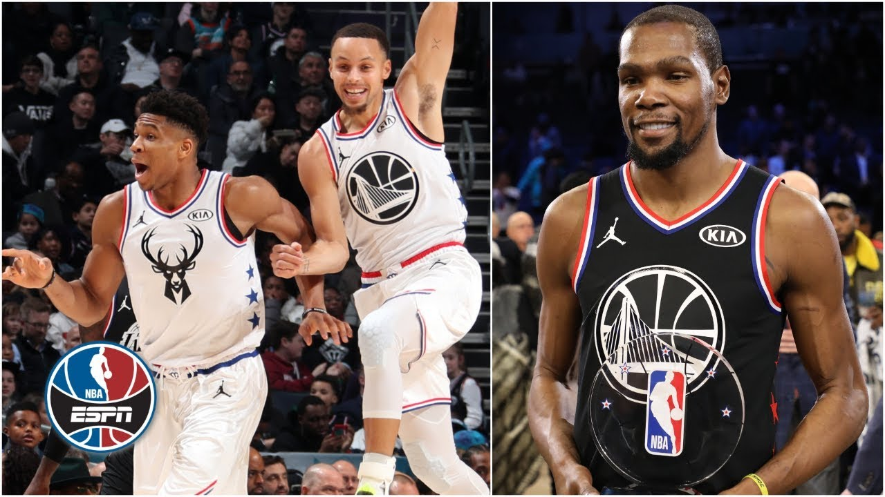 9bfa0415e Kevin Durant named MVP as Team LeBron beats Team Giannis in All-Star Game