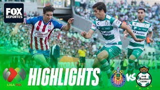 Santos 3-0 Chivas | HIGHLIGHTS | Liga Mx