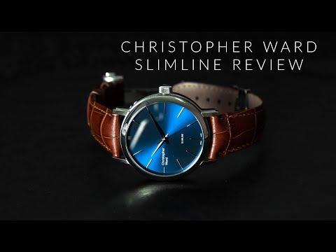 Christopher Ward C5 Malvern Slimline   Best Dress Watch With a Blue Dial Under $500!