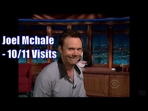 Joel McHale  Mocks & Impersonates Craig Humorously  1011 Visits In Chron. Order Mostly 360ish