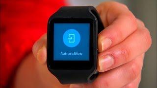 El Sony SmartWatch 3 es el primer reloj inteligente de la empresa con Android Wear