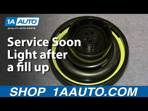 A Few Reasons a Gas Cap can turn on the Check Engine or Service Soon Light after a fill up