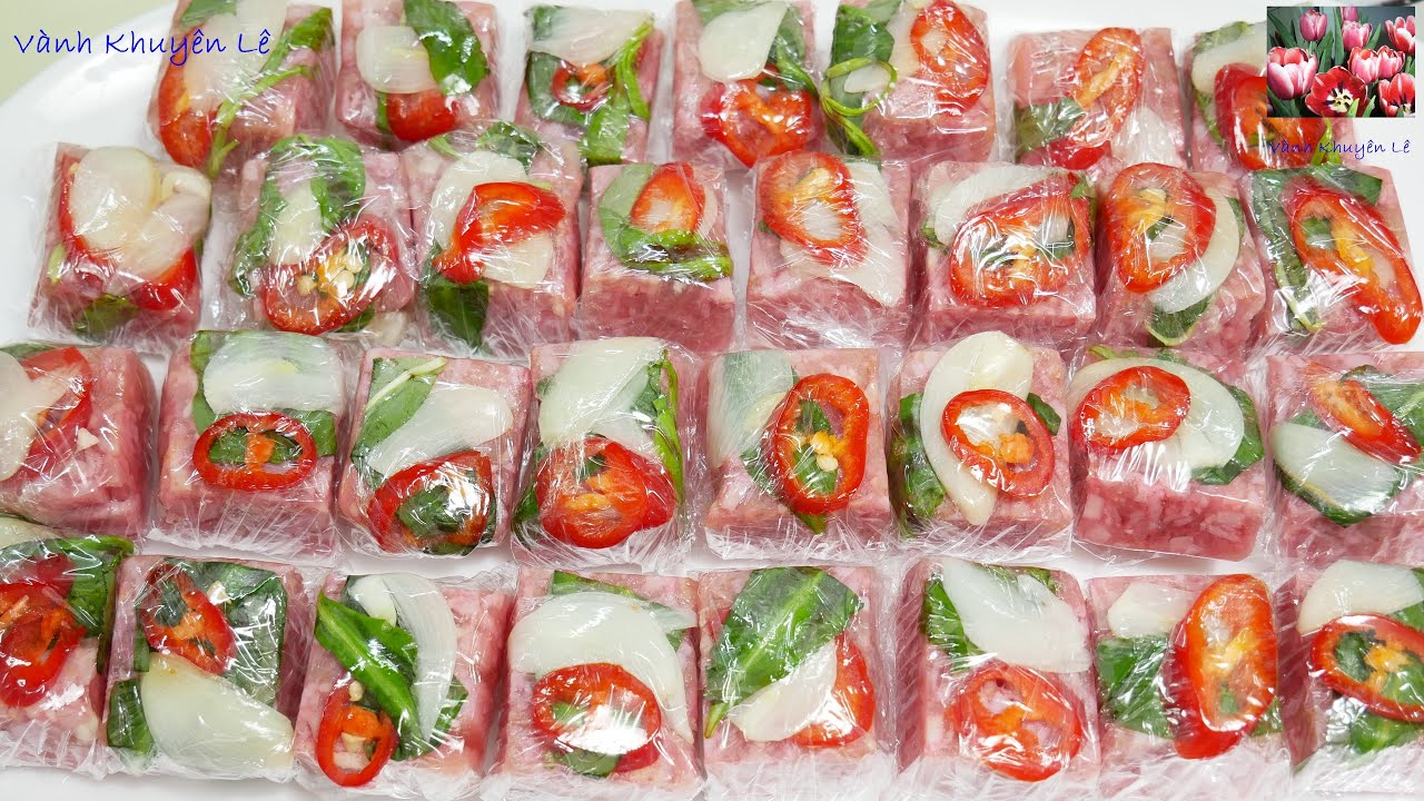 Cách làm NEM CHUA ăn liền làm từ THỊT CHÍN – Nem chua HAM – Nem chuaThịt Nguội Jambon by Vanh Khuyen