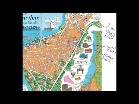 Zanzibar Mapa Youtube