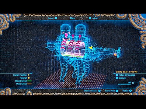 Divine Beast Vah Naboris Walkthrough