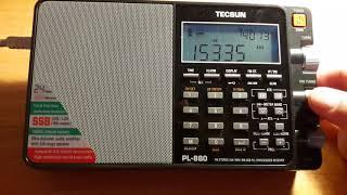tecsun PL-880. Китайское радио