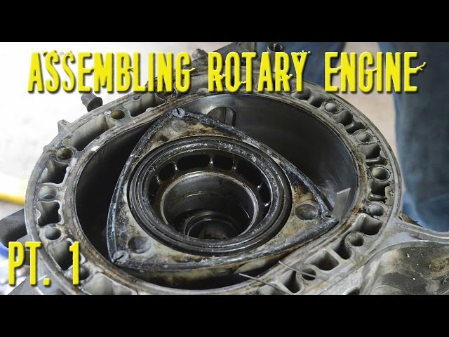 Assembling a Twin Turbo 13B Rotary Engine - Part 1