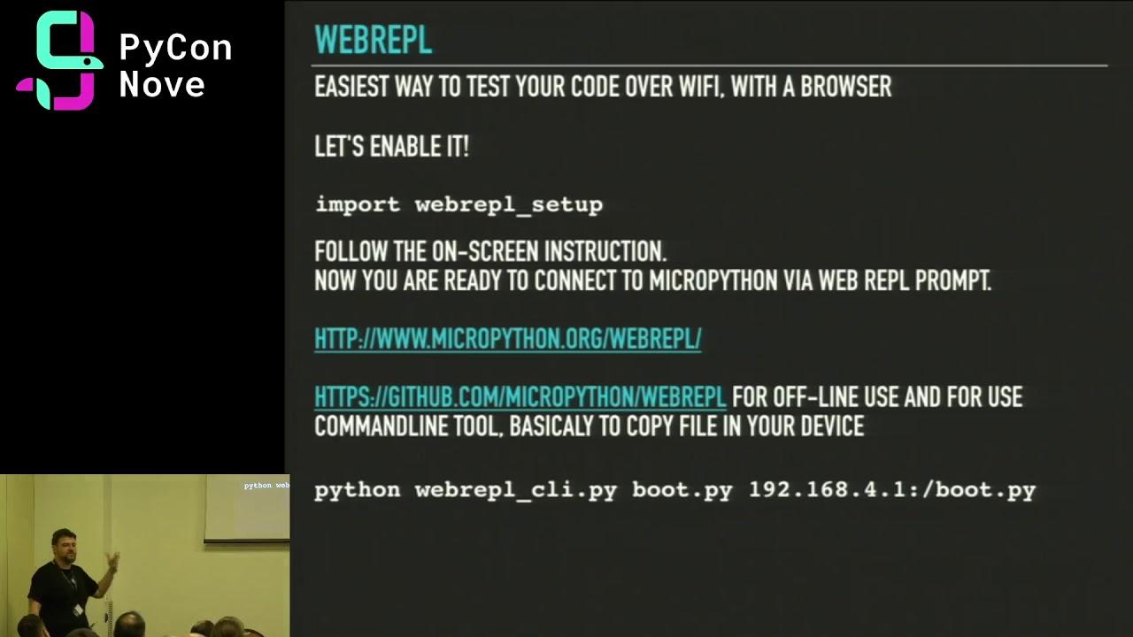 Image from IoT con Python: si può fare! dall'ESP8266 alla casa domotica