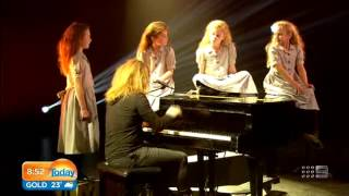 Tim Minchin and the Sydney Matildas on the Today Show Australia | Matilda The Musical