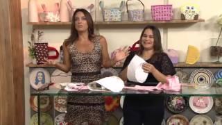 Cesta de Tecido para Lavabo – por Renata Herculano