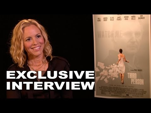 "Third Person: Maria Bello ""Theresa"" Exclusive Interview"