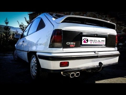 Opel Kadett 2 0l Gsi 16v Don Silencioso Roar Youtube