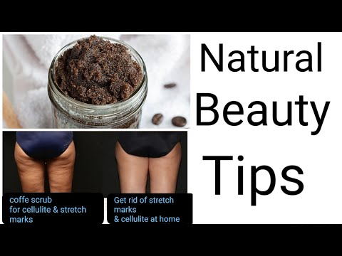 How To Treat  Stretch Marks \u0026 Cellulite  With Coffee \u0026 Sugar Scrub | Coffee Scrub For Stretch Marks