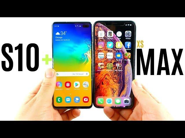 Galaxy S10 Plus vs iPhone XS Max Speed Test!
