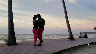 "Romantic Bachata Dancing on the Beach, Dominican Republic | ""Imitadora"""
