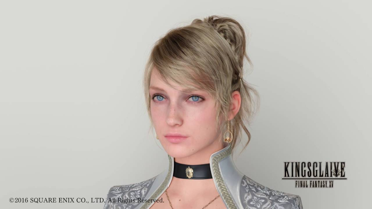 The Hair Of Luna From Kingsglaive Final Fantasy Xv Youtube