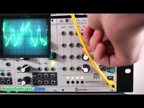 Mutable Instruments Edges Eurorack Oscillator Waveforms