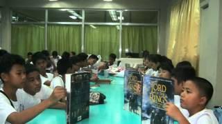 "Library Hub Tour at Bacolod City ""La Consolacion College - Murcia"""