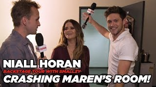 Niall crashes Maren Morris' Dressing Room! (Backstage Tour Pt. 6)