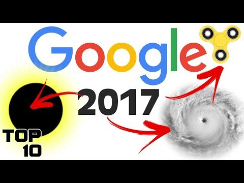 Top 10 Most Searched Google Terms 2017