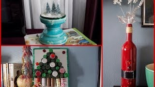 6 DIY Christmas Decorations!