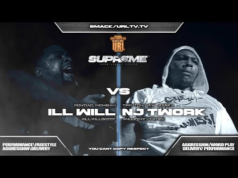 ILL WILL VS NU JERZY TWORK SMACK/ URL RAP BATTLE