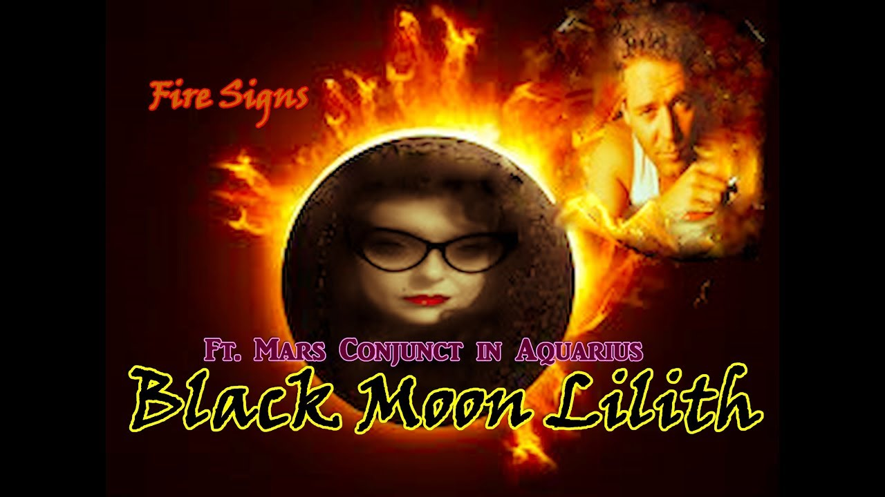 Now Showing! Black Moon Lilith ft  Mars Conjunct