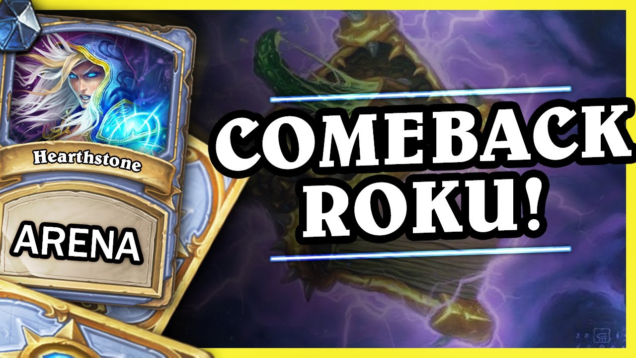 COMEBACK ROKU! – MAGE – Hearthstone Arena