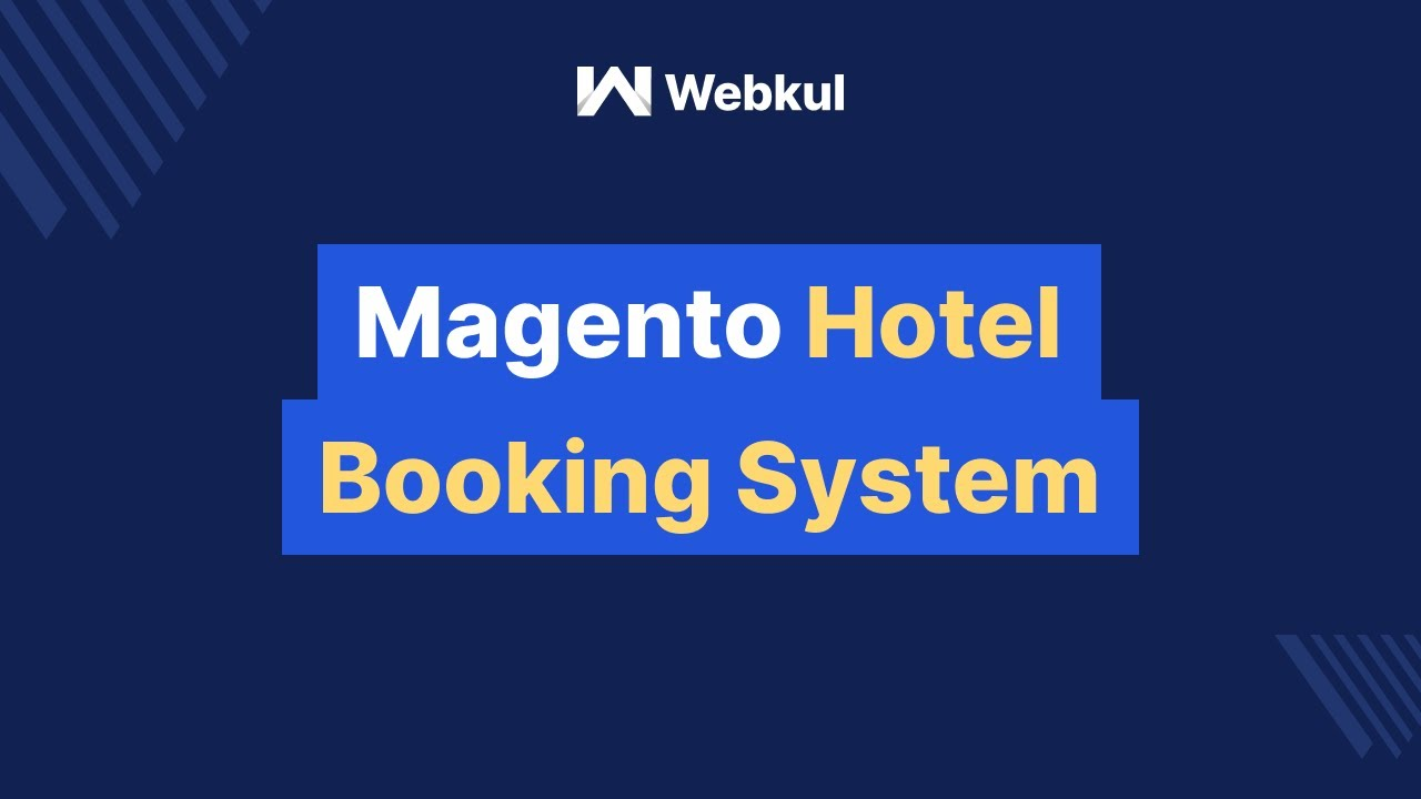 Magento Hotel Booking System Administrator Management Youtube