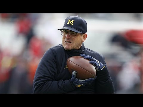 """Jim Harbaugh """"Bitterly Disappointed"""" With Officiating In Michigan-Ohio State Game 