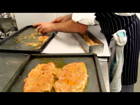 Fabrice Uhryn prepares foie gras