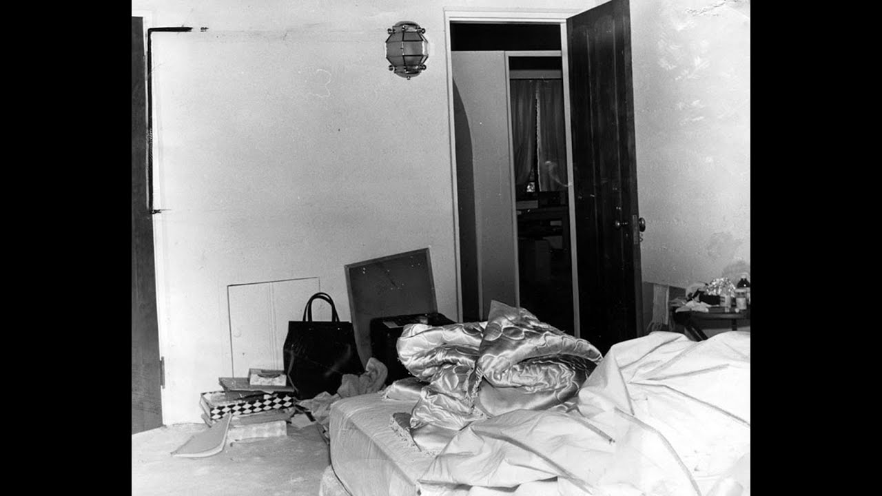 Marilyn monroe bedroom where she died