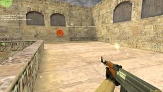 CS 16| |видео урок про стрельбу часть 1