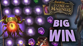 TOME OF MADNESS SLOTS BIG WIN (5940 €)