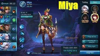Quẩy cùng Xạ thủ xinh đẹp Miya Thorn Captain Mobile Legends