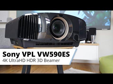 Vorstellung Sony VPL-VW590ES - Nativer 4K Heimkinobeamer