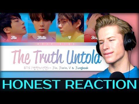 HONEST REACTION To BTS (방탄소년단) - 'THE TRUTH UNTOLD' (Feat. Steve Aoki)