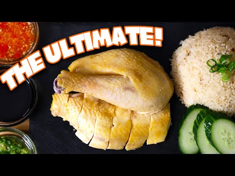 The ULTIMATE Sous Vide Hainanese Chicken Rice