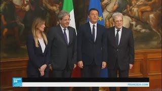 تشكيل حكومة جديدة في إيطاليا