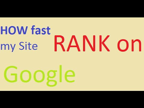 How to RANK on Google Search Engine -Improve Google Ranking