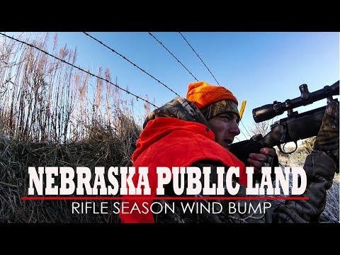 NEBRASKA DEER HUNTING 2018:  Wind Bumping Whitetails
