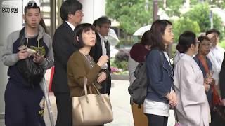 最大で9連休となったゴールデンウイークが終わり、けさの神戸市内には通...