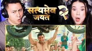 SATYAMEVA JAYATE 2   John Abraham   Divya Khosla Kumar   Milap Zaveri   Bhushan K   Trailer Reaction