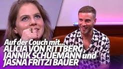 Auf der Couch mit ALICIA VON RITTBERG, JANNIK SCHÜMANN und JASNA FRITZI BAUER
