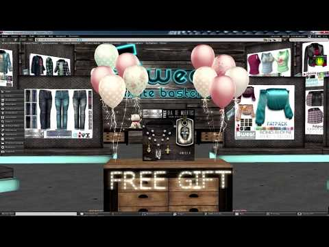 Live Streaming Second Life - SL14B - Exploring Shopping Event & Community Experiences