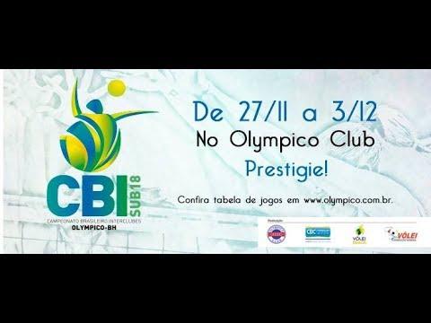 CBI de Vôlei Feminino Sub18 - 02/12 - Jogo 33 ao 38 - Semifinal