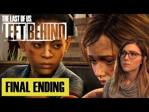 Ellie's Reason For Fighting | Final Ending | TLOU Left Behind DLC | Marz Plays