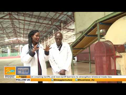 Business Digest focus on TEA production in Karongi, Rwanda